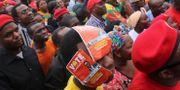 Arkivbild på oppositionsanhängare.  Moses Mwape / TT NYHETSBYRÅN/ NTB Scanpix
