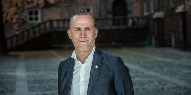 Daniel Helldén (MP), trafikborgarråd i Stockholms stad.  Malin Hoelstad/SvD/TT / TT NYHETSBYRÅN