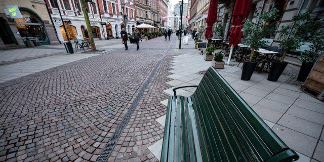 Illustrationsbild: Folktomt på gågatan i Malmö. Johan Nilsson/TT / TT NYHETSBYRÅN