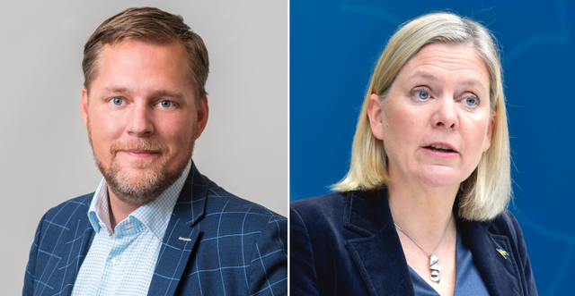 Mårder, Andersson. Företagarna, TT