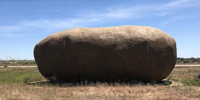 En gigantisk potatis har gjorts om till hotell i Idaho. Airbnb