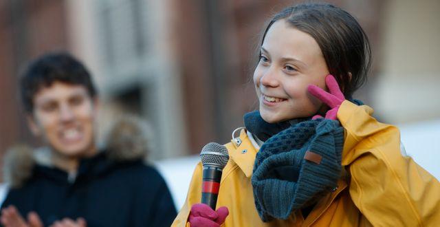 Greta Thunberg. Antonio Calanni / TT NYHETSBYRÅN