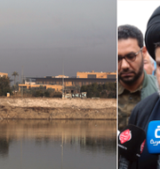 Amerikanska ambassaden i Bagdad / Muqtada al-Sadr AHMAD AL-RUBAYE / AFP / TT