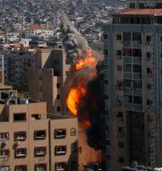 Explosionen. Hatem Moussa / TT NYHETSBYRÅN