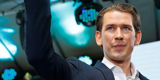 Sebastian Kurz. LEONHARD FOEGER / TT NYHETSBYRÅN