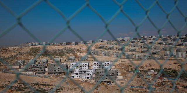 Arkivbild: Bosättningar på Västbanken. Ariel Schalit / TT NYHETSBYRÅN/ NTB Scanpix