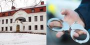 Mannen rymde från Hudiksvalls tingsrätt handfängslad och utan skor  TT