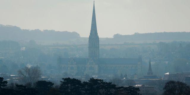 Katedralen i Salisbury. Matt Dunham / TT NYHETSBYRÅN/ NTB Scanpix