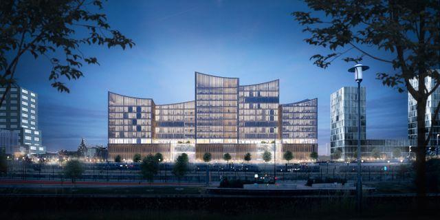 Malmös nya domstolsbyggnad där Instalco ska göra elinstallationer. Instalco