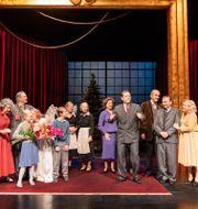 Pressbild från föreställningen. Ola Kjelbye