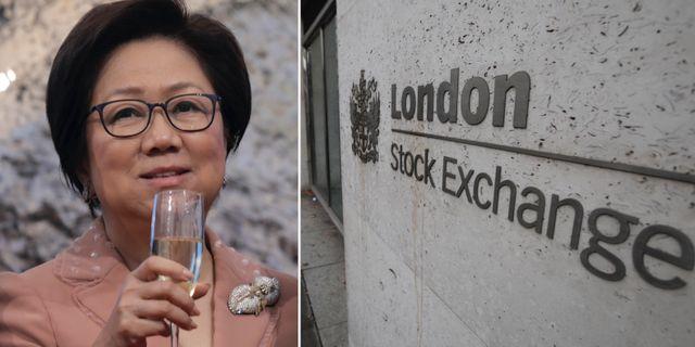 Laura Cha, ordförande för Hongkongbörsen.  TT