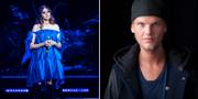 """First Aid Kits Klara Söderberg vid hyllningskonsert för Avicii, Tim """"Avicii"""" Bergling.  TT"""