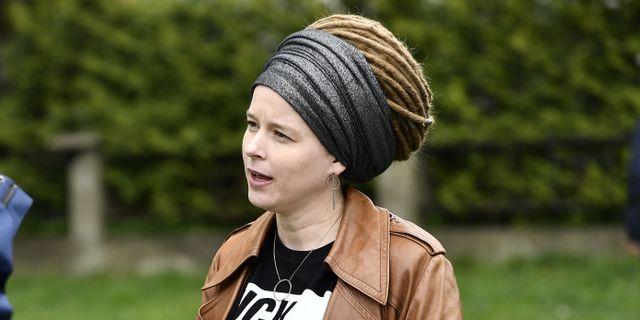 Amanda Lind (MP). Björn Larsson Rosvall/TT / TT NYHETSBYRÅN