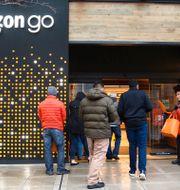 Amazon Go-butik i Seattle. LINDSEY WASSON / TT NYHETSBYRÅN