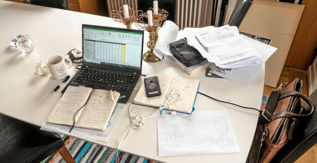 Arkivbild. Hemarbete.  Martina Holmberg / TT / TT NYHETSBYRÅN