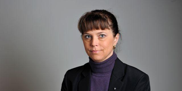 Emma Carlsson Löfdahl.  HENRIK MONTGOMERY / TT / TT NYHETSBYRÅN