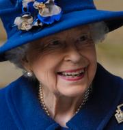 Drottning Elizabeth II i Westminster Abbey. TT