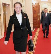 Kim Yo Jong. TT NYHETSBYRÅN