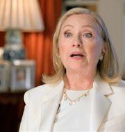 Hillary Clinton. TT NYHETSBYRÅN