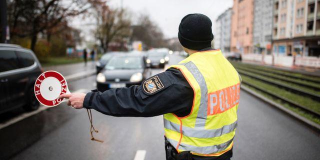 Tysk polis, illustrationsbild. Matthias Balk / TT NYHETSBYRÅN