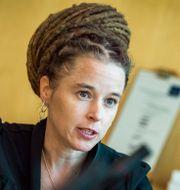 Kultur- och idrottsminister Amanda Lind (MP).  Claudio Bresciani / TT / TT NYHETSBYRÅN