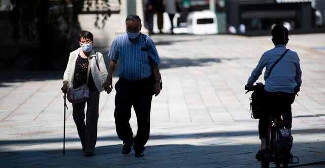 Tokyo, 4 september. Hiro Komae / TT NYHETSBYRÅN