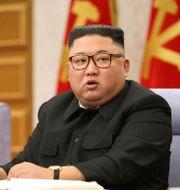 Nordkoreas ledare Kim Jong Un TT NYHETSBYRÅN