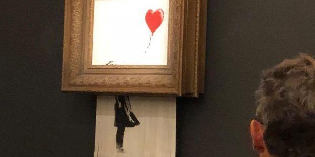 """""""Flicka med ballong"""".   Sotheby's"""