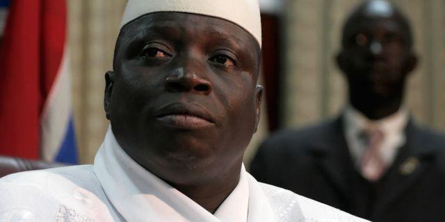 Yahya Jammeh. REBECCA BLACKWELL / TT NYHETSBYRÅN