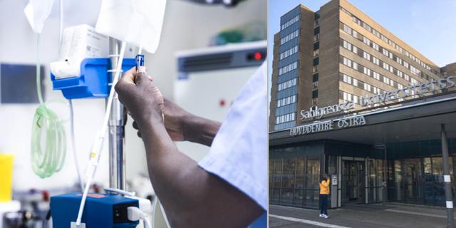 Sahlgrenska universitetssjukhus. TT