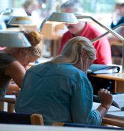 Fler yrkesverksamma ska ha rätt till studiemedel anser Unionen. Bertil Ericson / TT / TT NYHETSBYRÅN