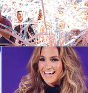 Coldplay, stevie Wonder och Jennifer Lopez/Arkivbilder TT