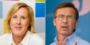 Åsa Fahlén och Ulf Kristersson  TT