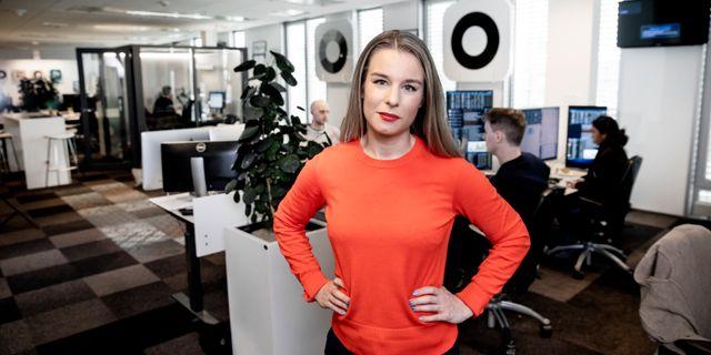 Tove Zander, vd Unga Aktiesparare  Magnus Sandberg
