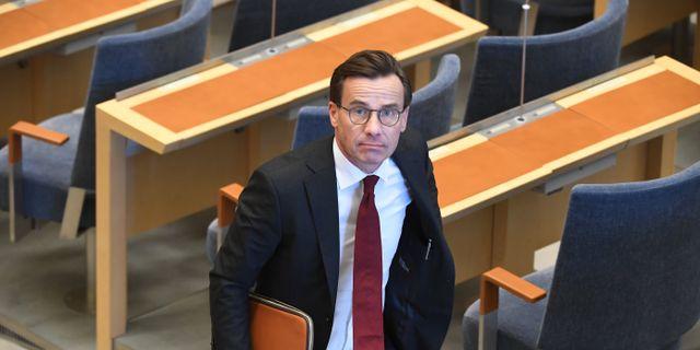 Ulf Kristersson  Fredrik Sandberg/TT / TT NYHETSBYRÅN