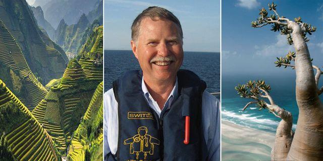 Amerikanen Don Parrish, 73, är världens mest beresta människa och rekommenderar bland annat Vietnam (vänster) och ön Socotra i Jemen (höger) som resmål. Shutterstock / Wikicommons / Thinkstock