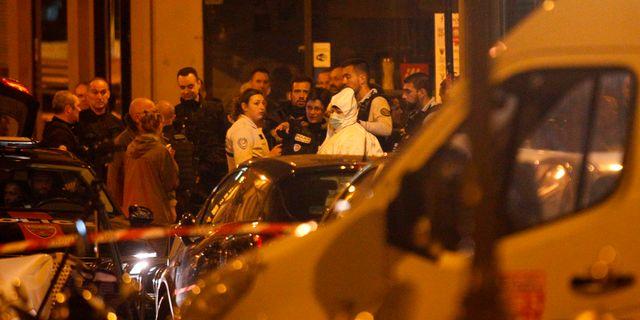 Bilder från avspärrningarna vid platsen för attacken. GEOFFROY VAN DER HASSELT / AFP