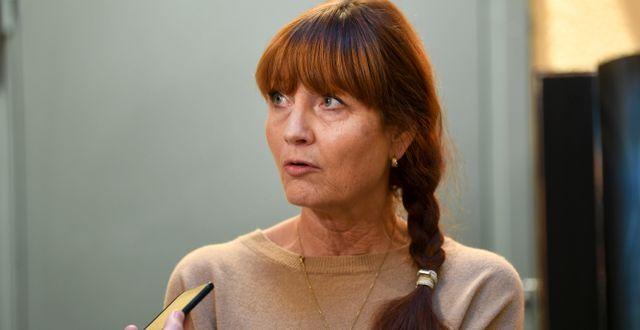 Marie Nilsson.  Fredrik Sandberg/TT / TT NYHETSBYRÅN