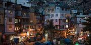 Slumområdet Rocinha i Rio de Janeiro.  Leo Correa / TT / NTB Scanpix