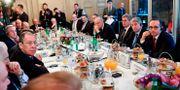 Sergej Lavrov träffar sin tyske kollega Heiko Maas i München. THOMAS KIENZLE / AFP