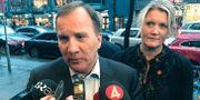 S-ledaren Stefan Löfven och partisekreteraren Lena Rådström Baastad. Arkivbild. Lars Larsson/TT / TT NYHETSBYRÅN