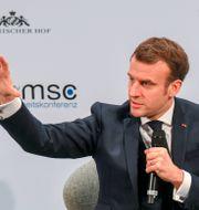 Emmanuel Macron idag. CHRISTOF STACHE / AFP