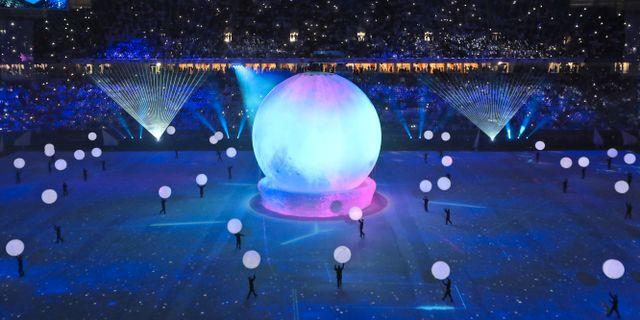 al Wakrah-stadion invigs i Qatar.  Kamran Jebreili / TT NYHETSBYRÅN/ NTB Scanpix