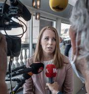 Annie Lööf (C) Magnus Hjalmarson Neideman/SvD/TT / TT NYHETSBYRÅN