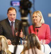 Statsminister Stefan Löfven (S) och finansminister Magdalena Andersson (S). Arkivbild. Thomas Johansson/TT / TT NYHETSBYRÅN