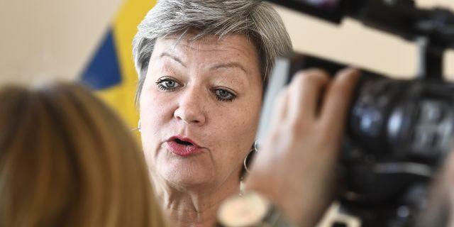 Ylva Johansson.  Claudio Bresciani/TT / TT NYHETSBYRÅN