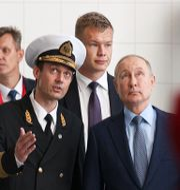Putin besöker Vladivostok, arkivbild. Evgeny Paulin / TT NYHETSBYRÅN