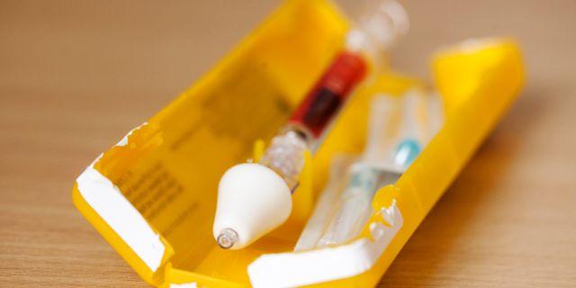 Medicinen Naloxon tar bort ruset av heroin inom bara några minuter och kan rädda livet på den som tagit en överdos. OLA TORKELSSON / TT / TT NYHETSBYRÅN