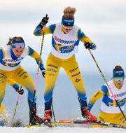 Mona Brorsson, längst fram.  Nisse Schmidt/TT / TT NYHETSBYRÅN