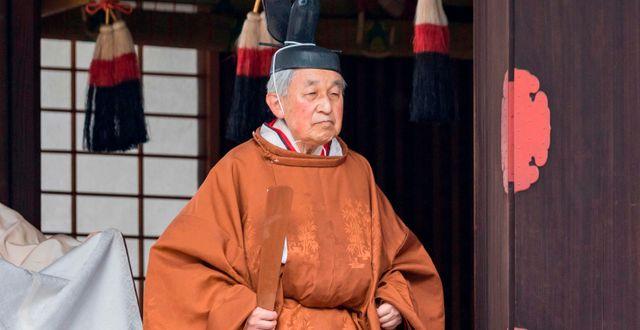 Kejsar Akihito.  HANDOUT / IMPERIAL HOUSEHOLD AGENCY
